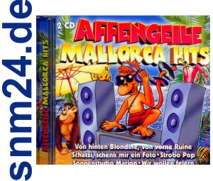Affengeile Mallorca Hits  - 2 CD-Album - 36 Tracks NEU