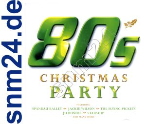 80´s Christmas Party 80er CD-Album Weihnachten NEU+OVP