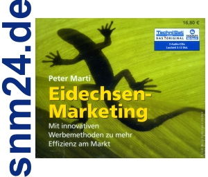 Hörbuch Eidechsen-Marketing / Peter Marti (3 CDs) NEU