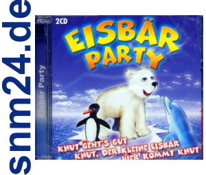 Eisbär Party Hits - 2 CD-Album - NEU+OVP