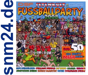 Fetenkult - Fussballparty Musik 2-CD-Set Album NEU+OVP