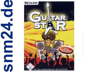 Guitar Star - Deine Tastatur wird zur Rock-Gitarre (PC)