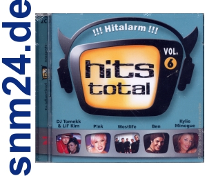 TV-Total presents: Hits Total Vol. 6 (Doppel-CD) - NEU