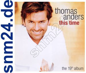 This Time - Thomas Anders The 19th Album  NEU + OVP