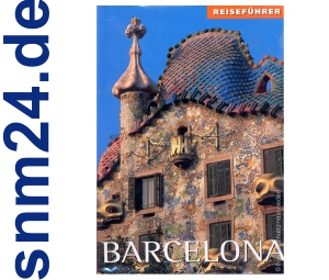 Barcelona - Reisefhrer und Reisekarte [Taschenbuch]