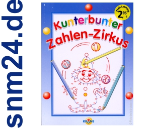 Kunterbunter Zahlen-Zirkus fr Kinder [Taschenbuch] von Thilo Kpsel