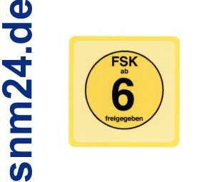 100 Stck FSK 6 Aufkleber / Sticker - FSK ab 6 freigegeben