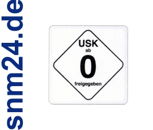 20 Stck USK 0 Aufkleber / Sticker - Freigegeben ohne Altersbeschrnkung