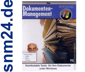 Dokumenten-Management Professionell - (PC) - NEU+OVP