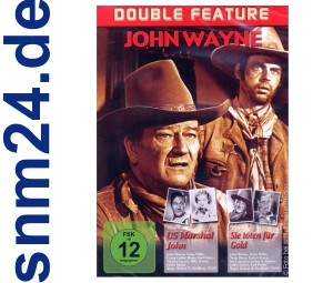 DVD - John Wayne - US Marshal John + Sie tten fr Gold - 2 Filme - NEU
