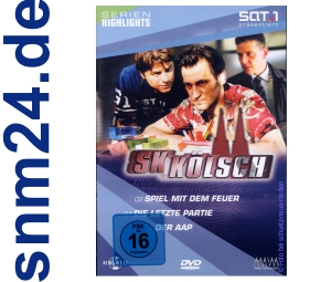 DVD - SK Klsch 2 (Folge 3 + 4 + 5)