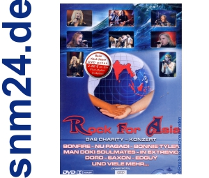DVD Rock for Asia: Das Charity Concert mit Doro, In Extremo uva. NEU+OVP