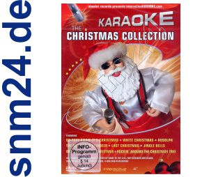 DVD Christmas Karaoke Collection m. Last Christmas Jingle Bells uva.