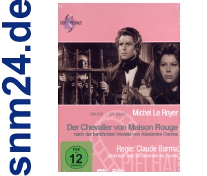 DVD Der Chevalier von Maison Rouge [2 DVDs] Lichtspielhaus - NEU+OVP