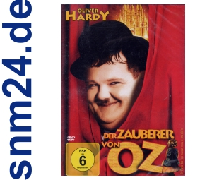 DVD - Oliver Hardy - Der Zauberer von Oz - NEU+OVP