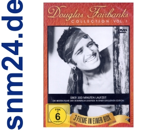 DVD Douglas Fairbanks Collection 1 - 3 Filme Box - NEU