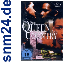 DVD - For Queen And Country mit Denzel Washington - NEU