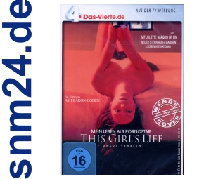 DVD - This Girl's Life - Mein Leben als Pornostar NEU