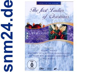 DVD + Bonus CD - The First Ladies of Christmas Weihnachten - NEU+OVP