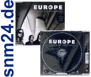 EUROPE Always The Pretenders Maxi-CD Single Import