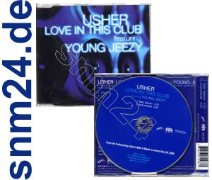 USHER Love in this Club Maxi-CD