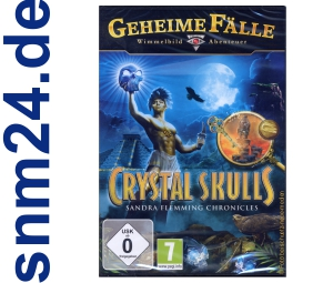 Geheime Flle: Crystal Skulls - Sandra Flemming Chronicles (PC) NEU+OVP