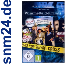 Die besten Wimmelbild-Krimis (PC) NEU+OVP
