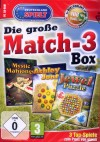 Die groe Match 3 gewinnt Box - 3 Top-Spiele (PC) NEU