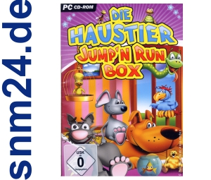Die Haustier Jump'n Run Box (PC) NEU+OVP