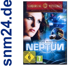 Verborgene Mysterien Die letzte Reise der Neptun Wimmelbild Spiel (PC) NEU+OVP