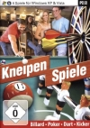 Kneipenspiele (PC) Poker Billard Dart Tischkicker NEU