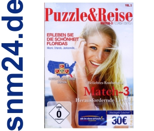 Puzzle &amp; Reise - Match-3: Florida Edition (PC) NEU+OVP