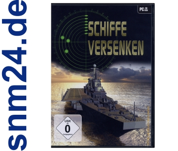 Schiffe versenken - PC-Spiel fr Windows XP, VISTA und Windows 7 - NEU+OVP