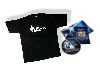 T-Shirt XL schwarz Merchandising Kings Bounty + Art-Book + DVD + Poster - NEU