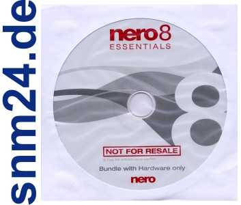 Ahead Nero 8 Essentials OEM inkl. Vision + ShowTime + Cover Designer uvm. - NEU