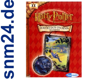 Harry Potter - Servietten-Technik-Decoupage Vorlagen - NEU